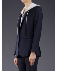 Veronica Beard | Blue The Long Lean Jacket | Lyst