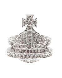 Vivienne Westwood | Metallic Orb Ring | Lyst