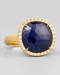 Marco Bicego - Siviglia 18K Blue Sapphire Ring - Lyst