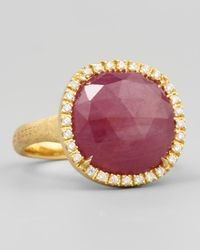 Marco Bicego | Siviglia 18K Pink Sapphire Ring | Lyst