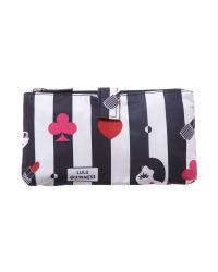 Lulu Guinness | Blue Stripe Multicoloured Cosmetic Bag | Lyst