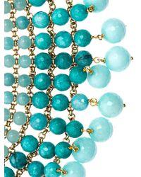 Rosantica | Blue Orchidea Aquamarine Agate Necklace | Lyst