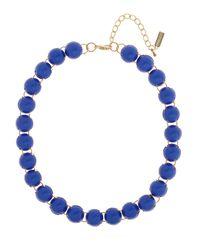 BaubleBar | Blue Cobalt Cabochon Strand | Lyst