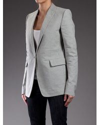 Carol Christian Poell | Gray Fitted Jacket | Lyst