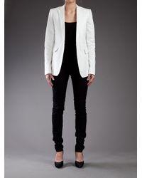 Carol Christian Poell - White Fiteed Jacket - Lyst