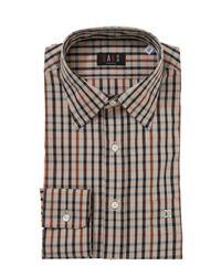 Daks Gray House Check Shirt for men