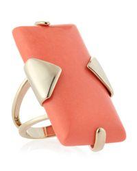 Kendra Scott | Pink Tobin Salmon Magnesite Ring | Lyst