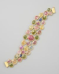 Marco Bicego - Siviglia 18k Multicolor Sapphire Bracelet - Lyst