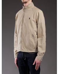 Polo Ralph Lauren - Natural High Neck Jacket for Men - Lyst