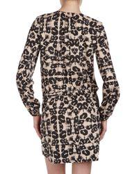 Rebecca Taylor - Multicolor Leopardprint Tunic 2 - Lyst