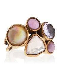 Stephen Dweck - Brown Multistone Noubeau Band Ring 8 - Lyst