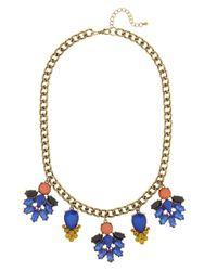 BaubleBar - Blue Ivy Necklace - Lyst