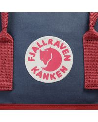 Fjallraven Blue Kanken Backpack for men