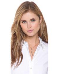 Kelly Wearstler Green Carlton Pendant Necklace