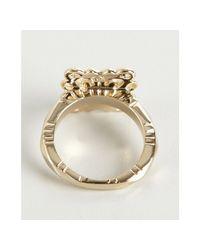 Kendra Scott - Metallic Gold Josie Lace Square Ring - Lyst