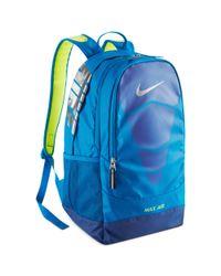Nike Blue Vapor Max Air Backpack for men