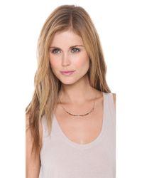Shashi | Pink Theodora Necklace | Lyst