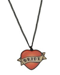 Tatty Devine | Red Bride Necklace | Lyst