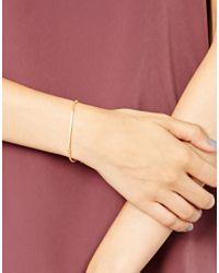 Dogeared Metallic Balance Bar Bracelet