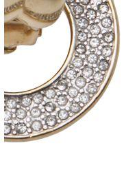 Guy Laroche | Metallic Dangling Clipon Earrings | Lyst