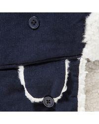 John Lewis Blue Cord Trapper Hat for men