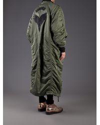 Juun.J | Green Embroidered Bird Coat for Men | Lyst