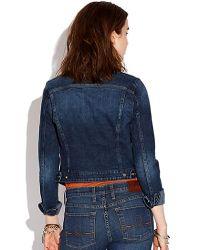 Lucky Brand Blue Pixie Denim Jacket