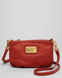 Marc By Marc Jacobs Red Crossbody Classic Q Percy