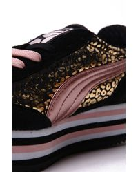 PUMA Metallic Sf77 Platform Sneaker