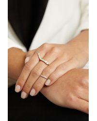 Sophie Bille Brahe   Metallic 18-Karat Gold Diamond Ring   Lyst