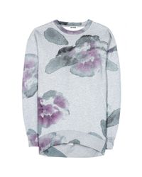 Acne Studios Multicolor Beta Print Cottonblend Sweatshirt