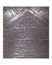 Hervé Léger - Karima Metallic Bandage Dress - Lyst