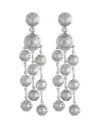 John Hardy - Metallic Palu Chandelier Earrings - Lyst