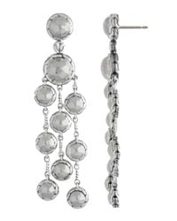 John Hardy - Metallic Palu Chandelier Earrings - Lyst