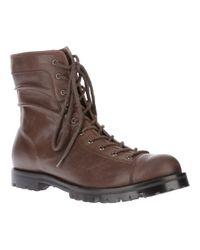 Yohji Yamamoto Brown Monkey Zip Boots for men