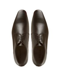Dune Black Addaprinted Patent Square Gibson for men