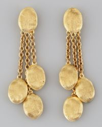 Marco Bicego - Metallic Siviglia 18K Gold 3-Strand Drop Earrings - Lyst