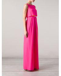 ROKSANDA Pink Orianne Gown