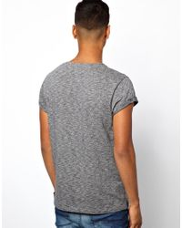 ASOS - Black Oversized Boxy Fit Knitted T-shirt In Khaki Twist for Men - Lyst