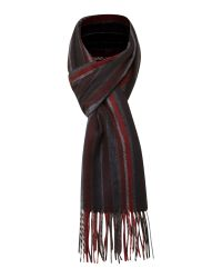 Linea Multicolor Soft Touch Multi-stripe Scarf for men