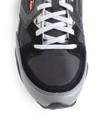 DIESEL - Gray Dynamykal Sneaker for Men - Lyst