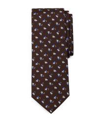 Brooks Brothers | Purple Robot Slim Tie for Men | Lyst