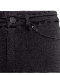 H&M Black Imitation Leather Trousers