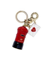 Mulberry - Red Love Letter Keyring - Lyst