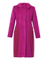 Sportmax - Purple Lecito Coat - Lyst
