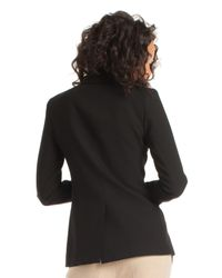 Trina Turk Black Constantine Jacket