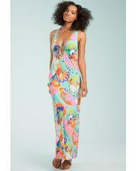 Trina Turk Multicolor Sea Cove Long Dress
