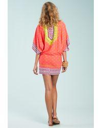 Trina Turk Multicolor Seychelles Tunic