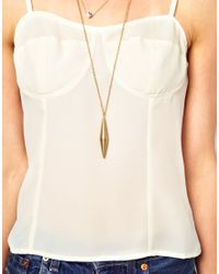 Zadig & Voltaire - White Winter Kate Fitted Silk Crepe Cami with Chiffon Insert - Lyst