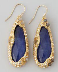 Alexis Bittar - Blue Elements Sodalite Doublet Drop Earrings - Lyst
